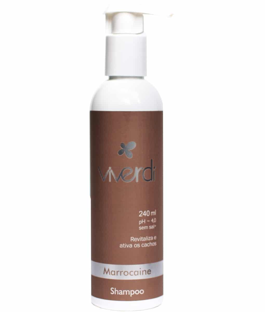 Shampoo Marrocaine – Viverdí Cosméticos